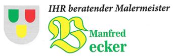Malermeister Manfred Becker - Logo
